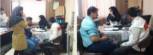 کنترل فشار خون پرسنل اداره گاز شهر قدس