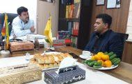 بررسی و حل مشکلات مشترکین اداره گاز شهرستان قدس
