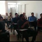 کلاس تکریم ارباب رجوع در اداره گاز شهر قدس