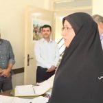 بازدید فرماندار از اداره گاز شهر قدس